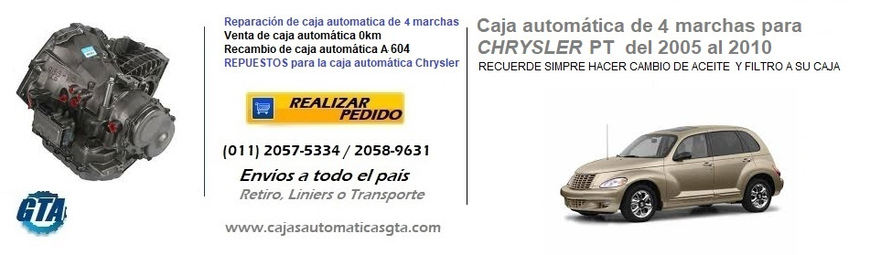 CAJA AUTOMATICA CHRYSLER PT