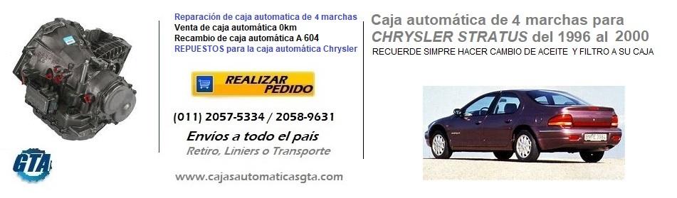 CAJA AUTOMATICA STRATUS DE 4 MARCHAS